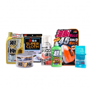 Soft99 Wash&Wax Set Light