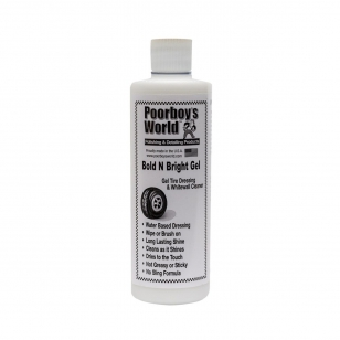 Poorboy's World Bold N Bright Gel Tire Dressing 473 ml