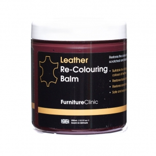 Furniture Clinic Leather Re-Colouring Balm Black 250 ml