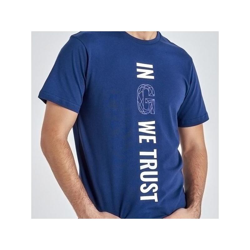 Gyeon T-Shirt Navy Blue L
