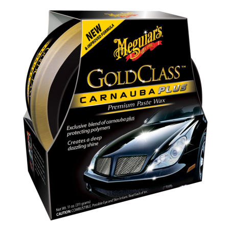 Meguiar's Gold Class Carnauba Plus Premium Paste Wax 311 g