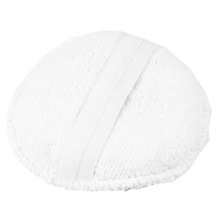 Monster Shine White Round Microfibre Applicator