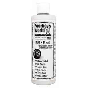 Poorboys World Bold N Bright Tire Dressing