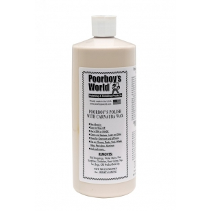 Poorboy's World  Polish with Carnauba Wax 473 ml