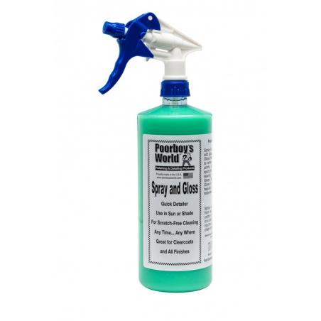 Poorboy's World Spray & Gloss 473 ml