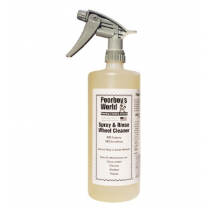 Poorboy's World Spray & Rinse Wheel Cleaner 946 ml